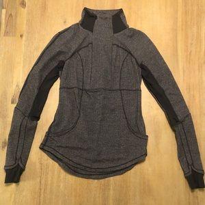 Herringbone pullover